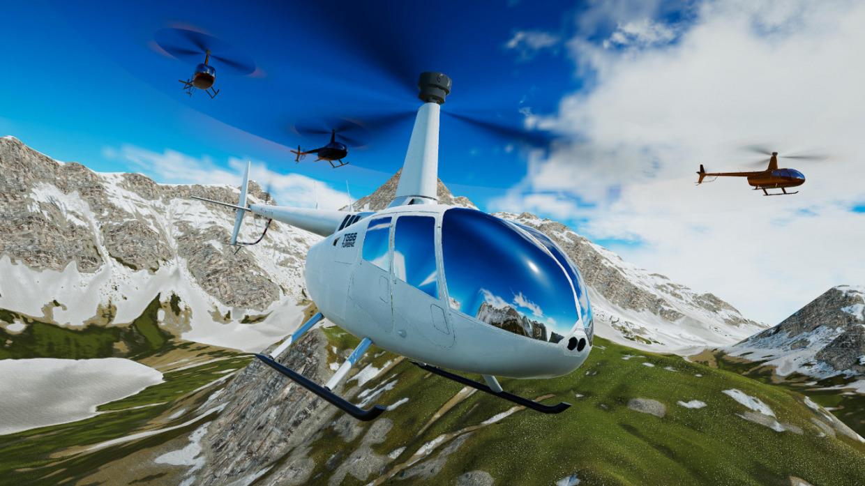 不用苦练三天就能上天?画面逼真,玩法硬核的飞行模拟救援《直升机模拟器2021》