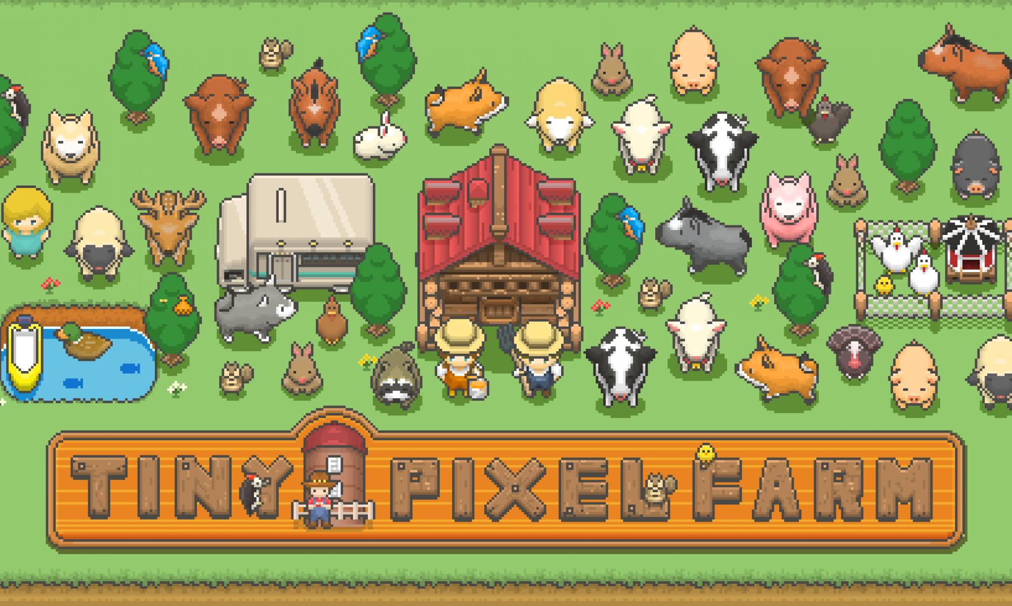 迷你像素农场:一款启发《星露谷物语》制作的农场经营游戏