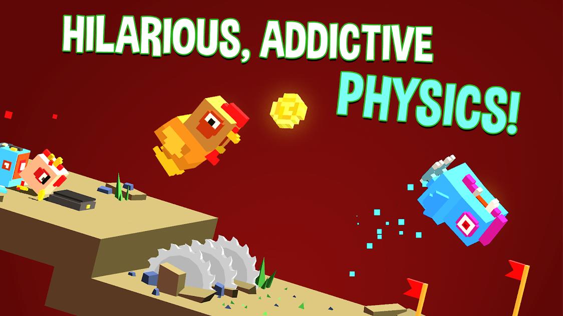 越过山丘:让一只鸡安全落地有多难?有毒的物理闯关游戏