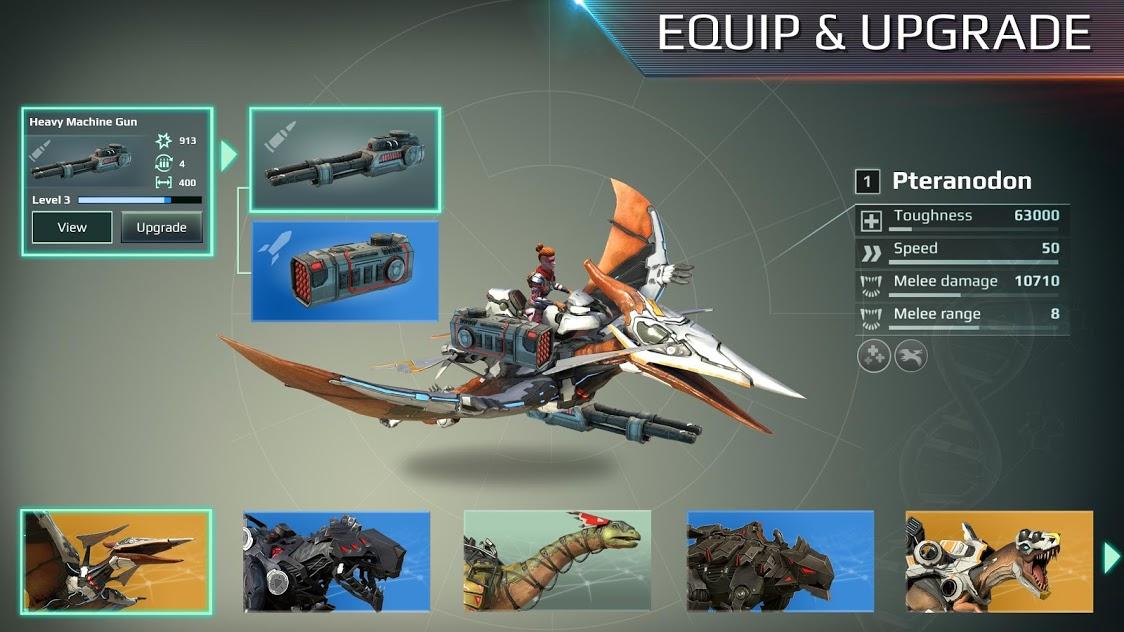全金属怪物:乘骑机甲暴龙,与好友开启PvP对决 图片2