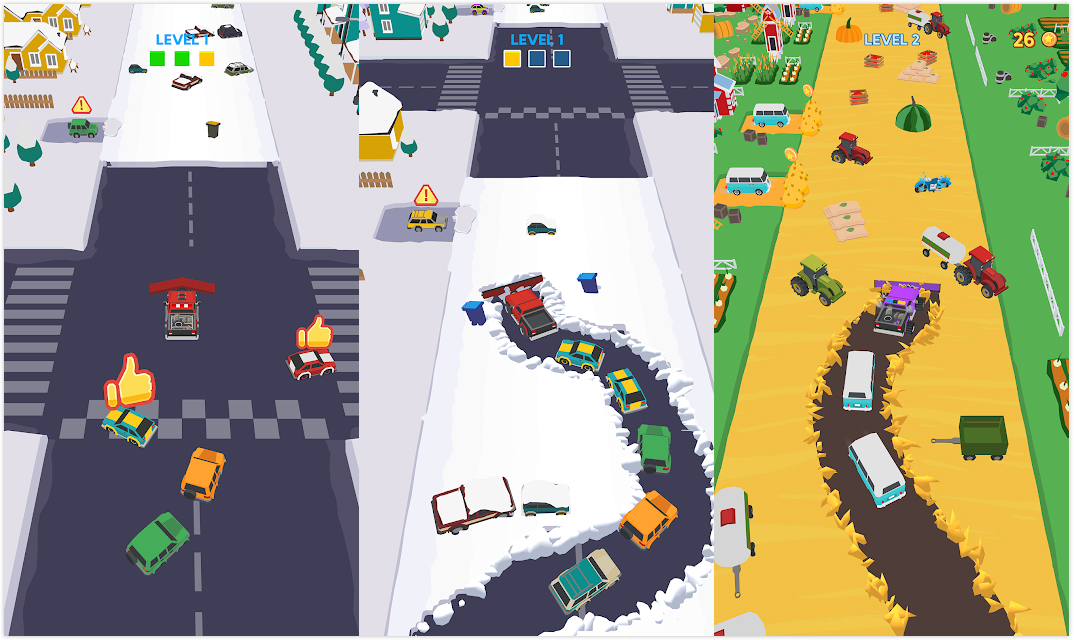 Clean Road:经典又另类的玩法,去解救受困于雪地的车辆吧