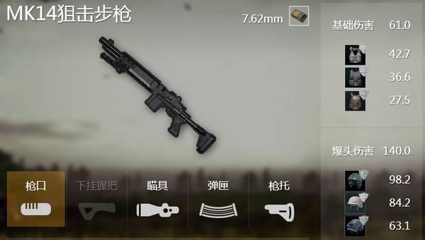 武器在绝地求生排名 图片1