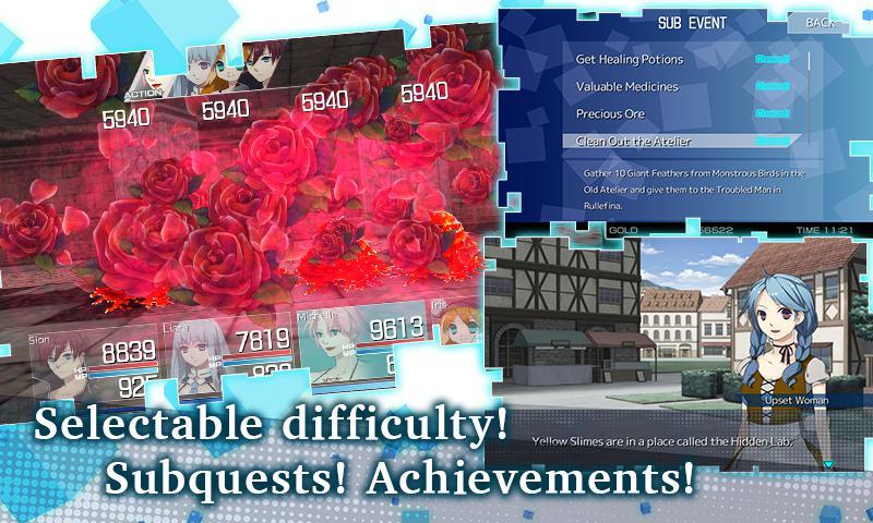 RPG Tears Revolude 游戏截图3