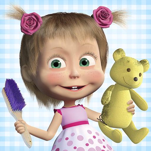 玛莎与熊:儿童游戏打扫房子和洗衣服
