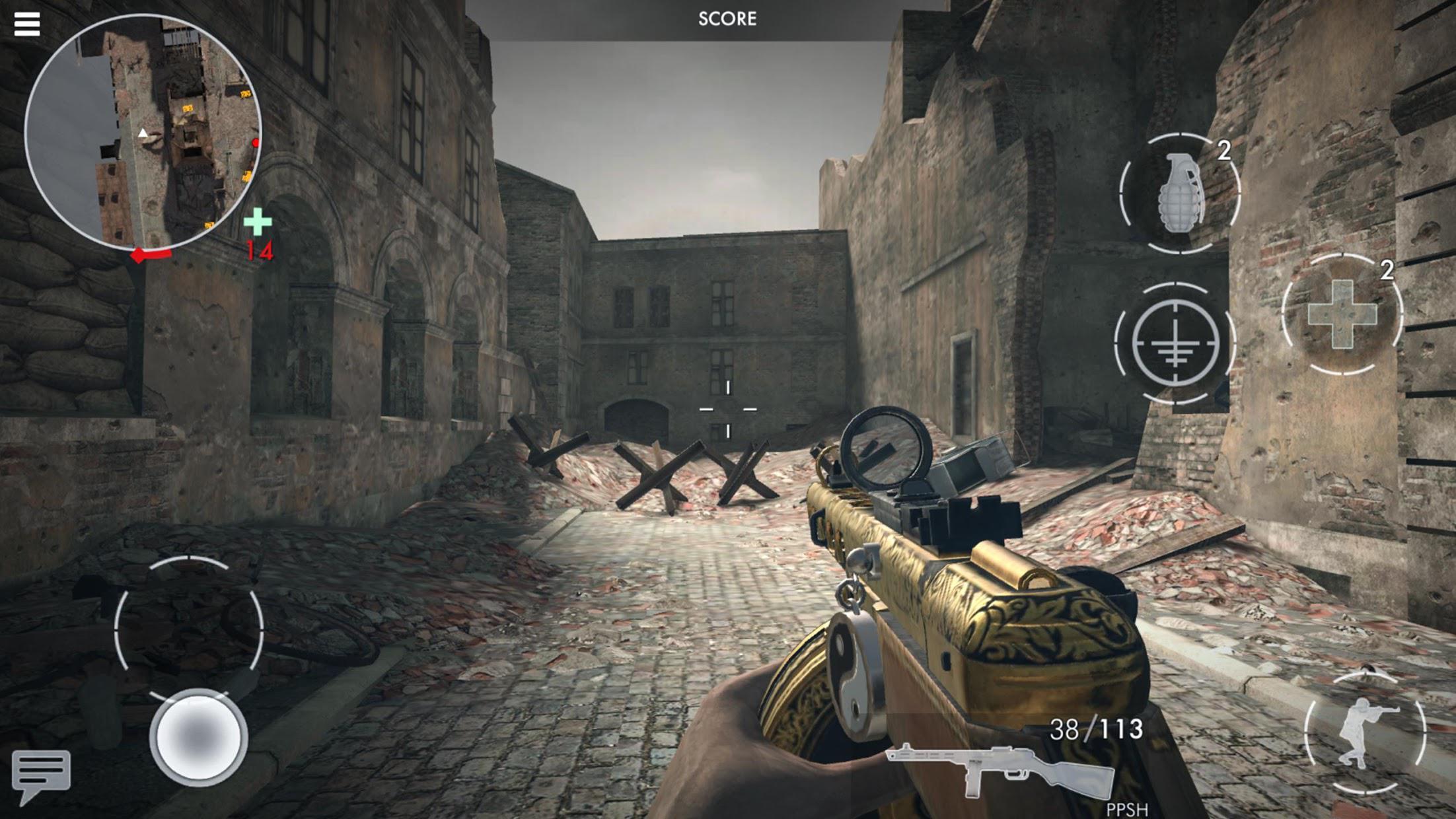 世界战争 :英雄 游戏截图3