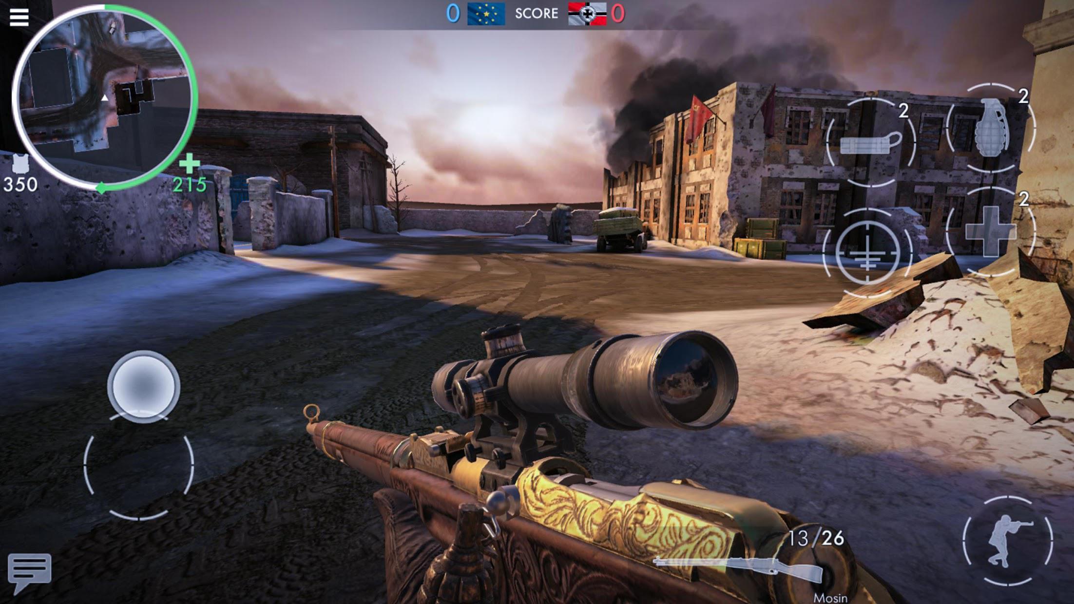 世界战争 :英雄 游戏截图4