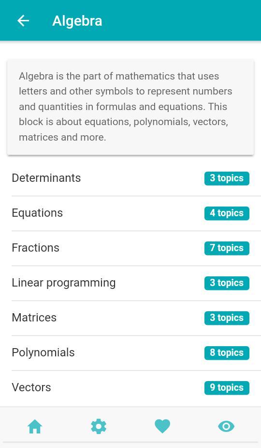 Math theory 游戏截图2