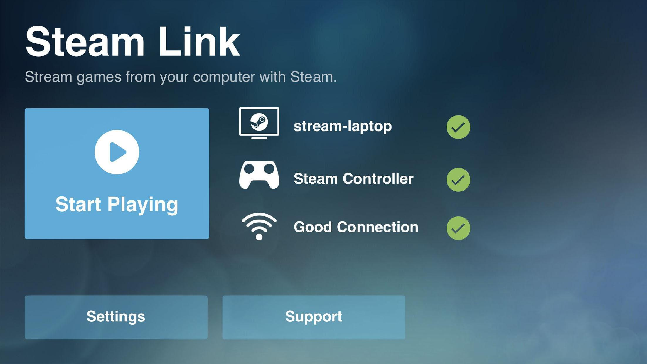 Steam Link (BETA) 游戏截图4