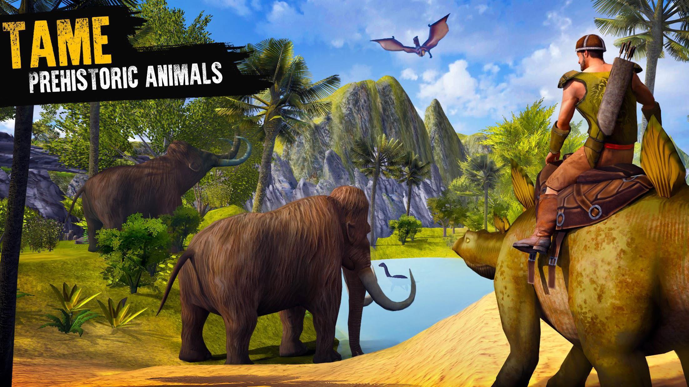 侏罗纪生存岛:恐龙与工艺 游戏截图1