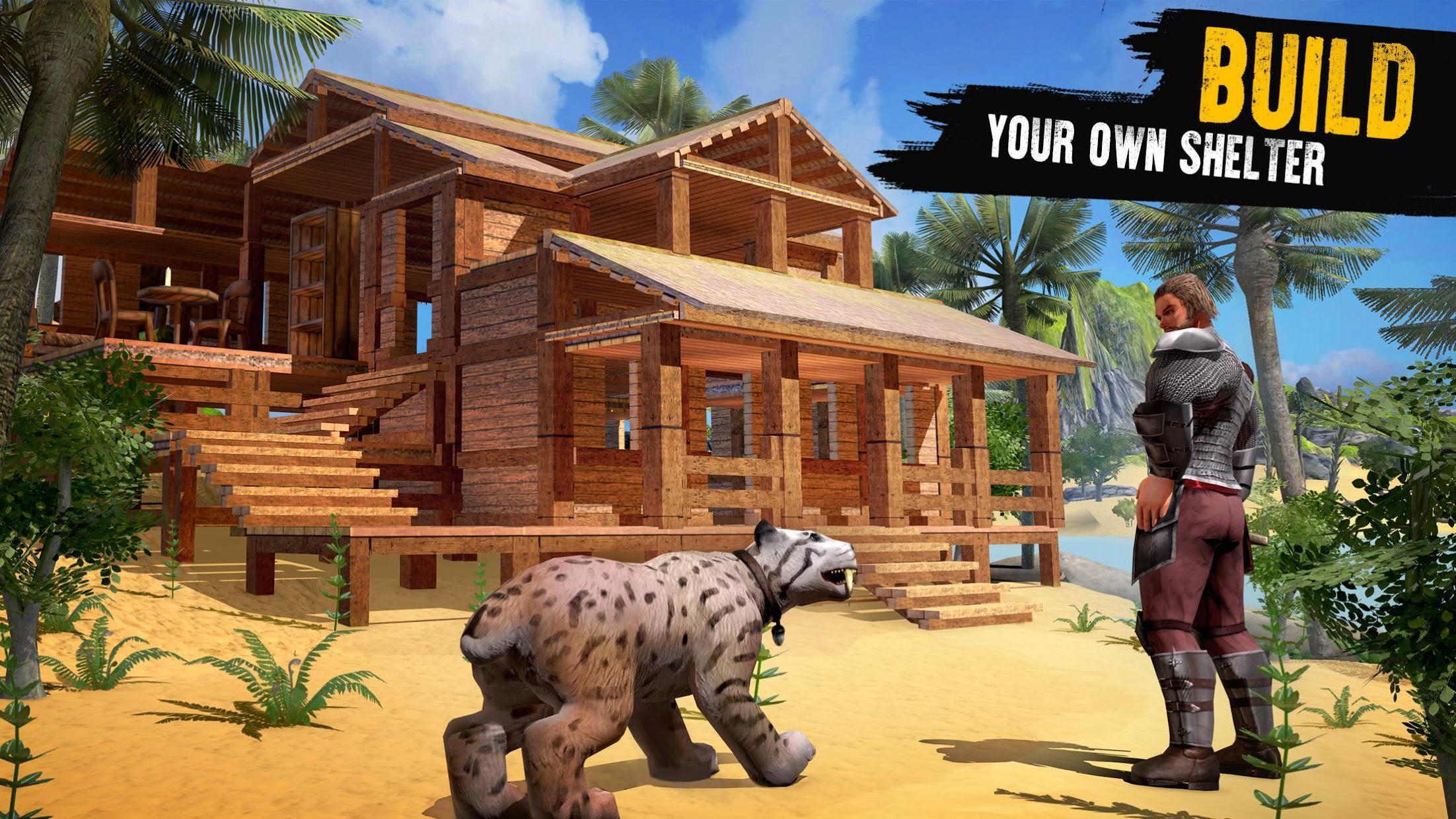 侏罗纪生存岛:恐龙与工艺 游戏截图2