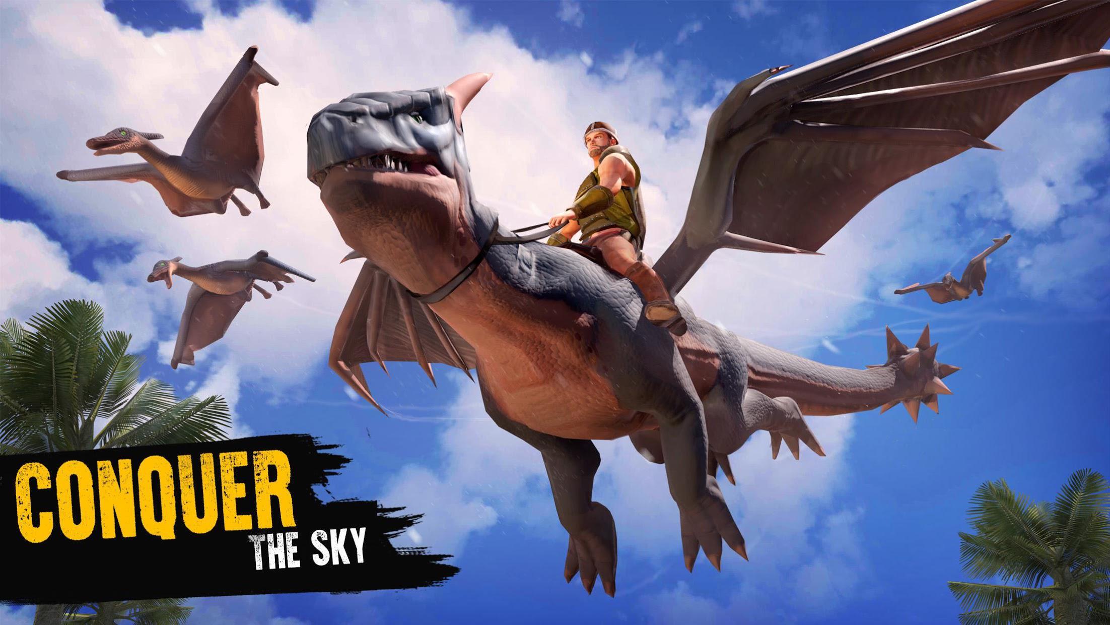 侏罗纪生存岛:恐龙与工艺 游戏截图3