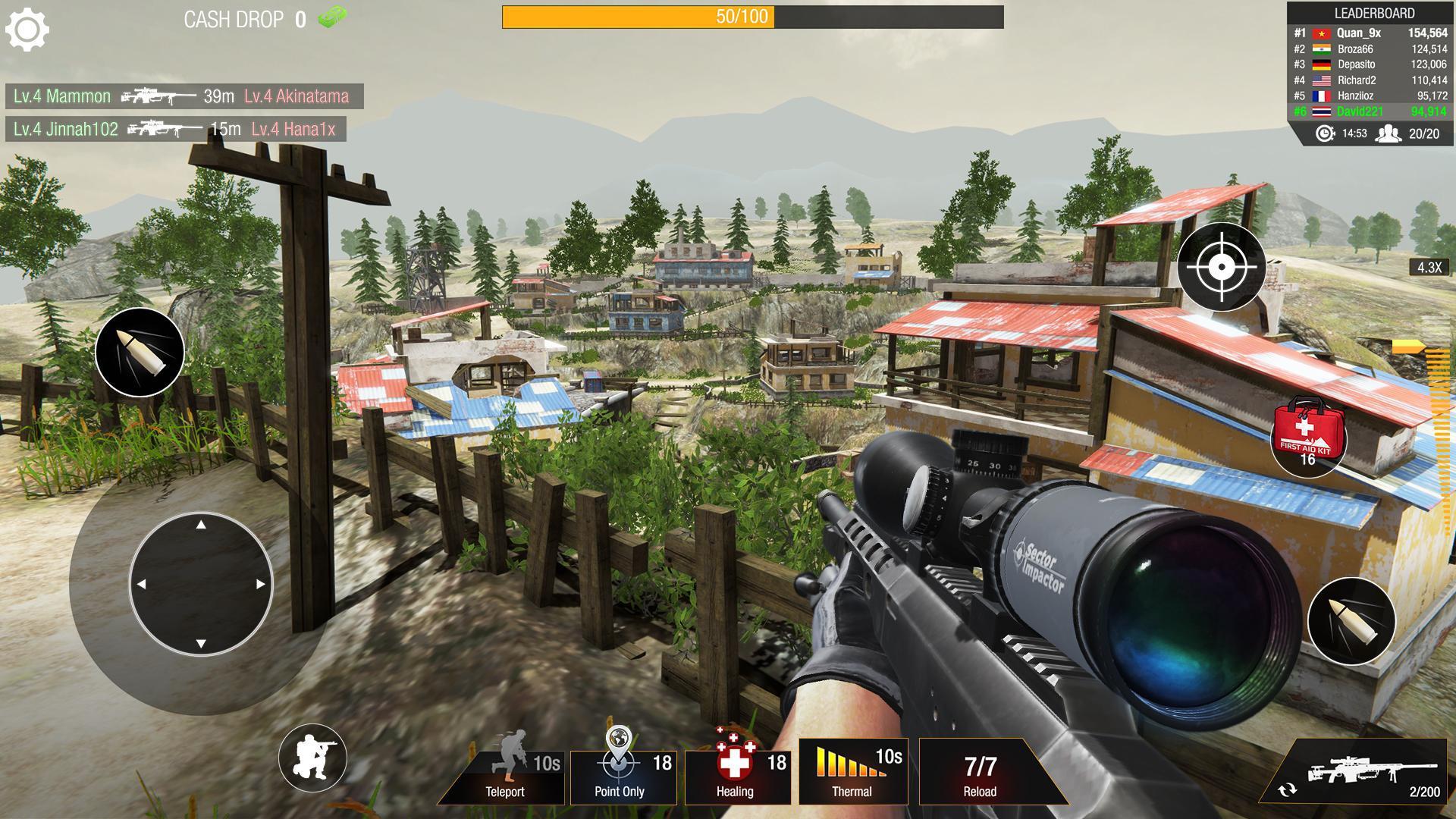 Bullet Strike:狙击手游戏 游戏截图1