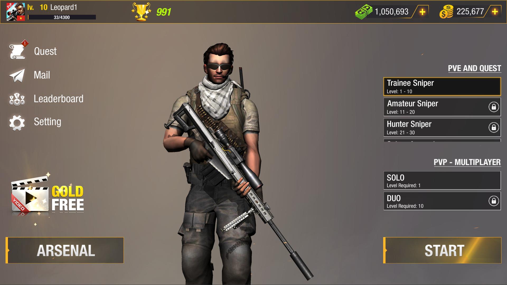 Bullet Strike:狙击手游戏 游戏截图3