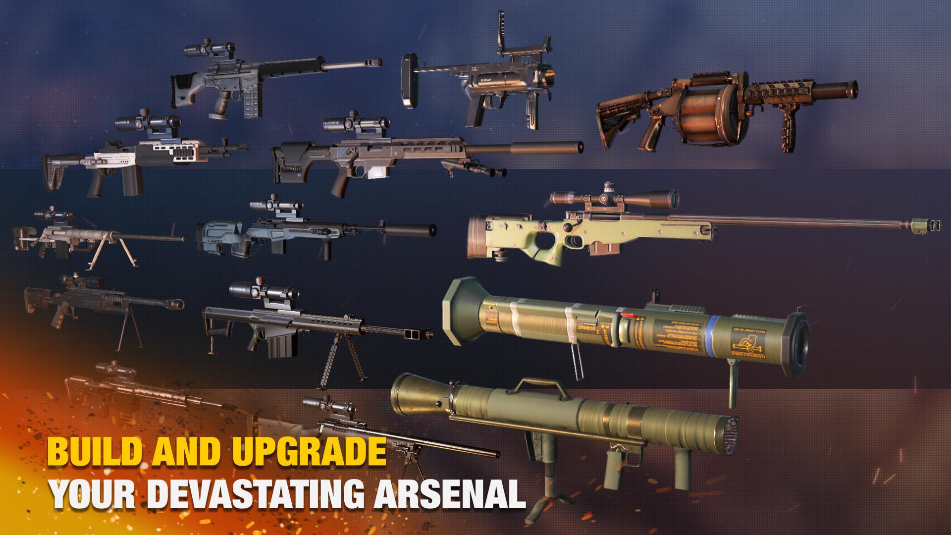 Bullet Strike:狙击手游戏 游戏截图4