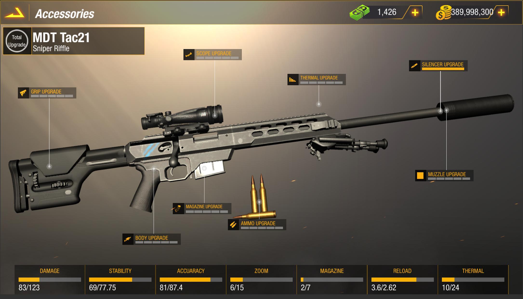 Bullet Strike:狙击手游戏 游戏截图5
