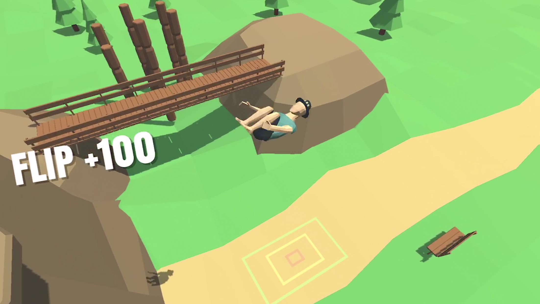 翻滚吧少年(Flip Trickster) 游戏截图1