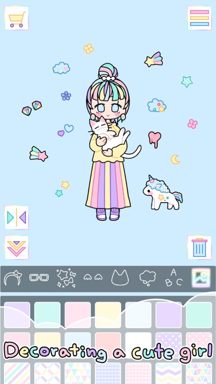 粉彩女孩 游戏截图2