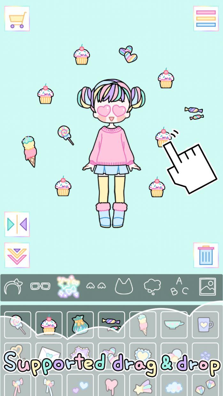 粉彩女孩 游戏截图3
