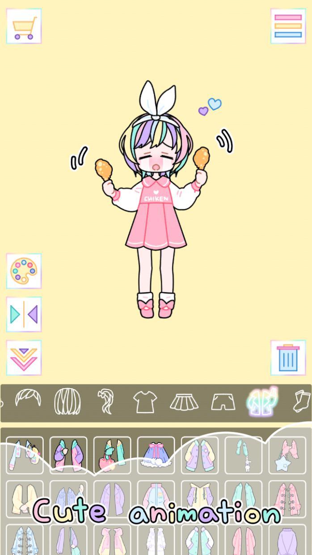 粉彩女孩 游戏截图4