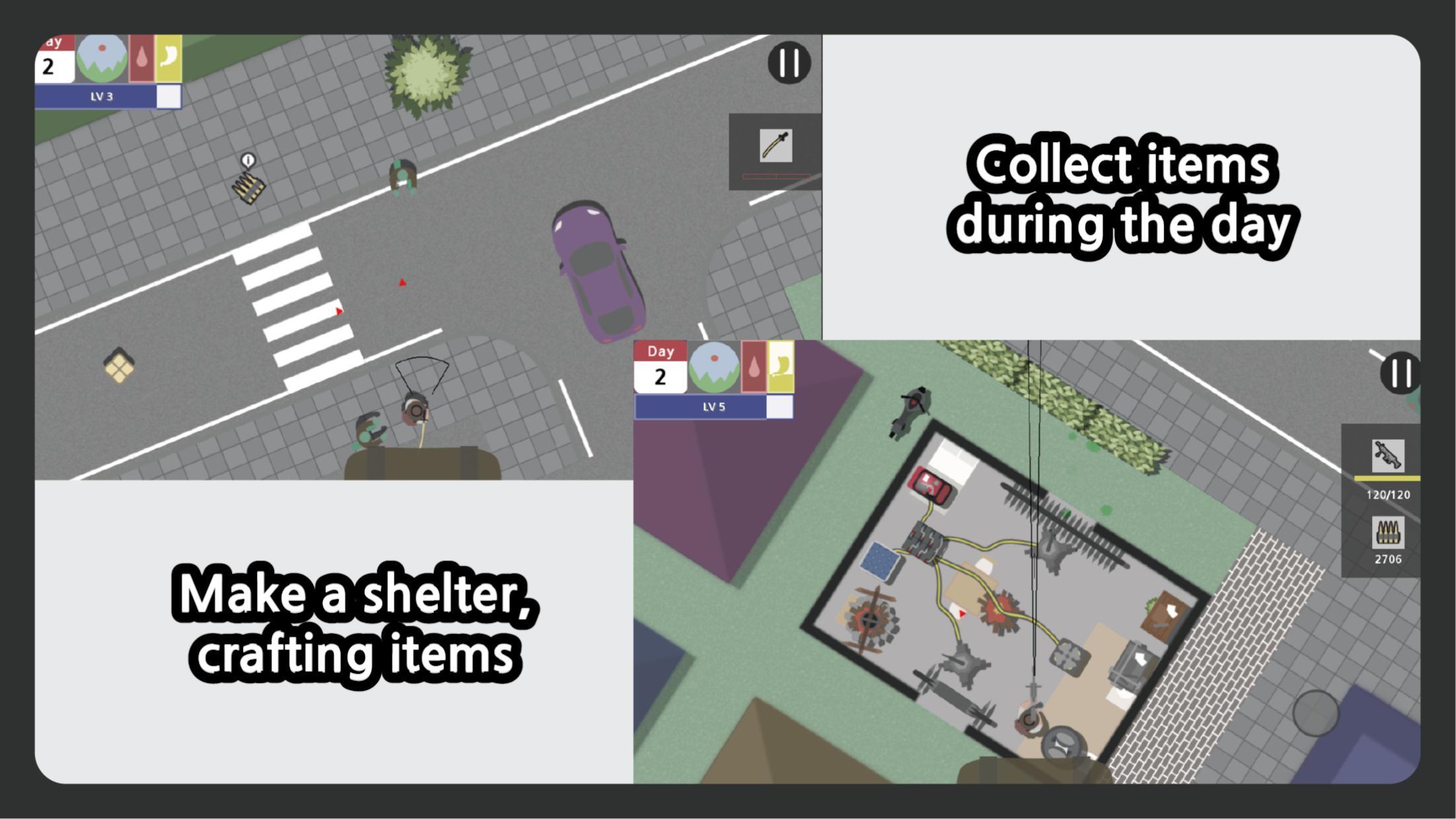 死城:僵尸生存 游戏截图1