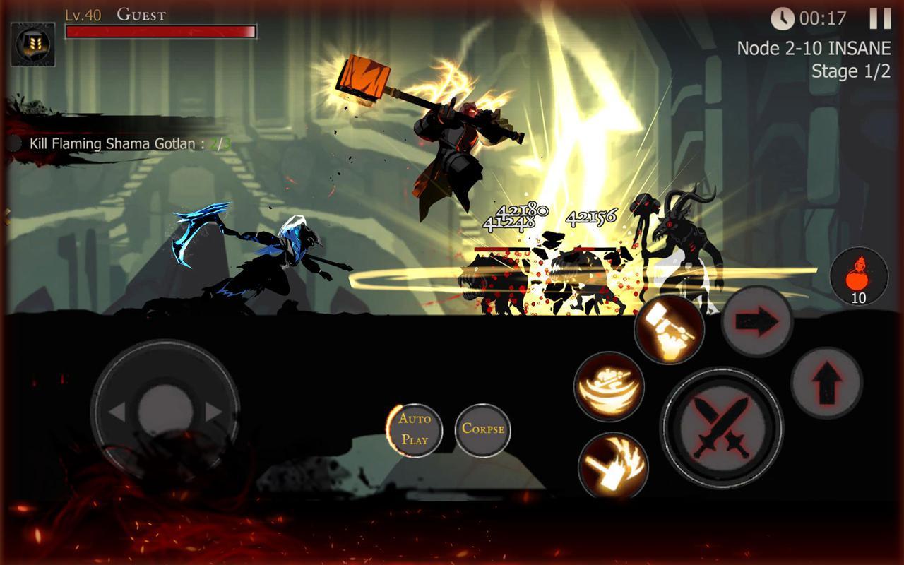 黑暗骑士:火柴人格斗 游戏截图5
