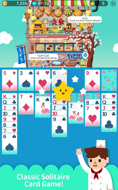 卡牌烹饪塔 游戏截图1