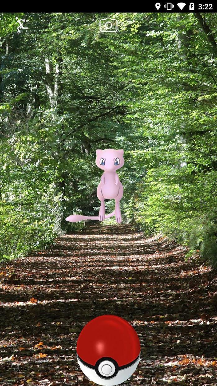 Pokémon GO 游戏截图3