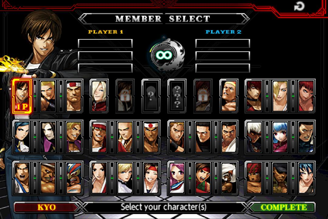 THE KING OF FIGHTERS-A 2012(F) 游戏截图2