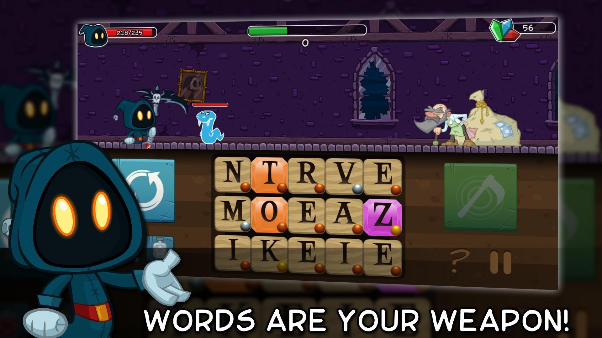 Letter Quest: Grimm's Journey 游戏截图1