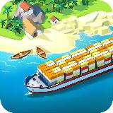 Sea Port: 在战略模拟中建设城镇和运送货物