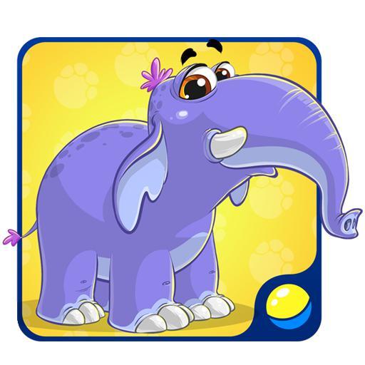 动物和动物的声音:游戏为幼儿,孩子们