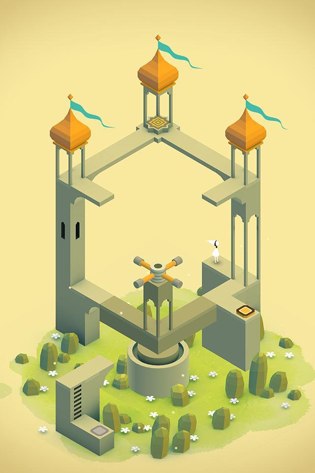 纪念碑谷 游戏截图3