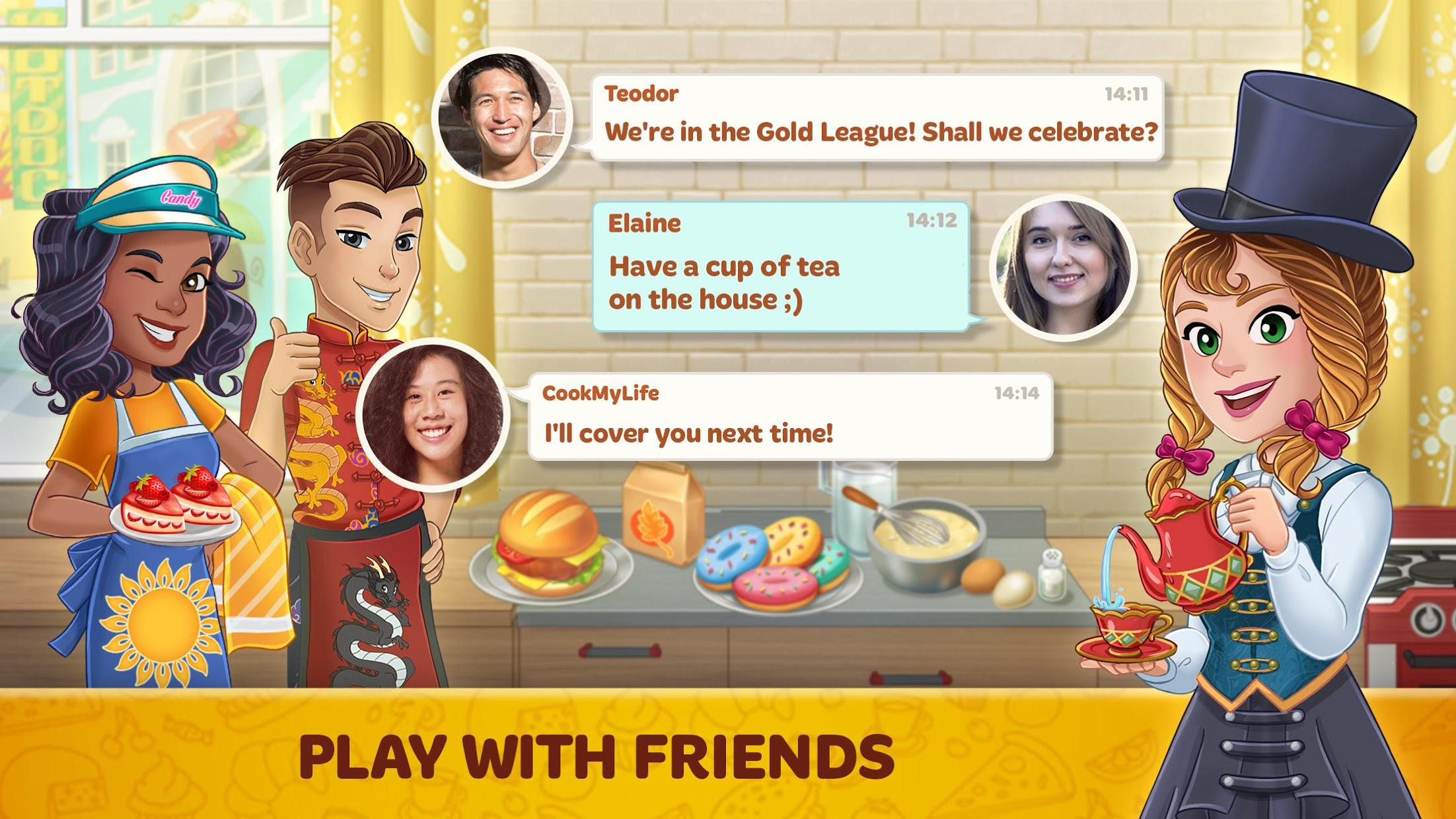 Cooking Diary®: Tasty Hills 游戏截图5