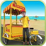 Beach Ice Cream Delivery