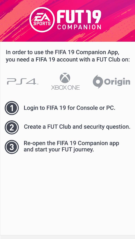 EA SPORTS™ FIFA 19 Companion 游戏截图1