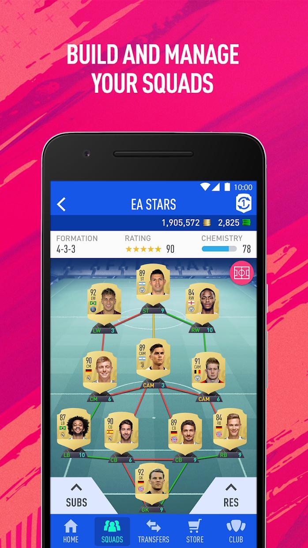 EA SPORTS™ FIFA 19 Companion 游戏截图5