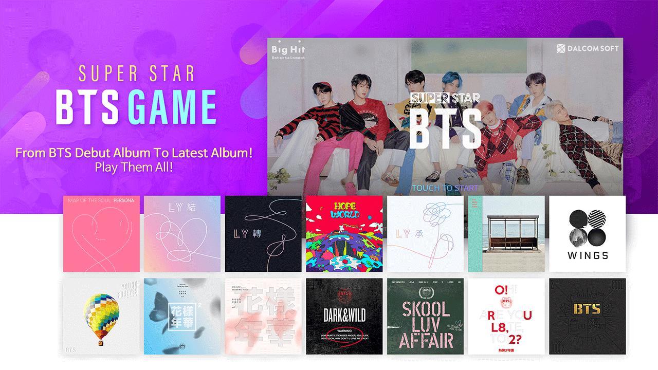 SuperStar BTS 游戏截图1