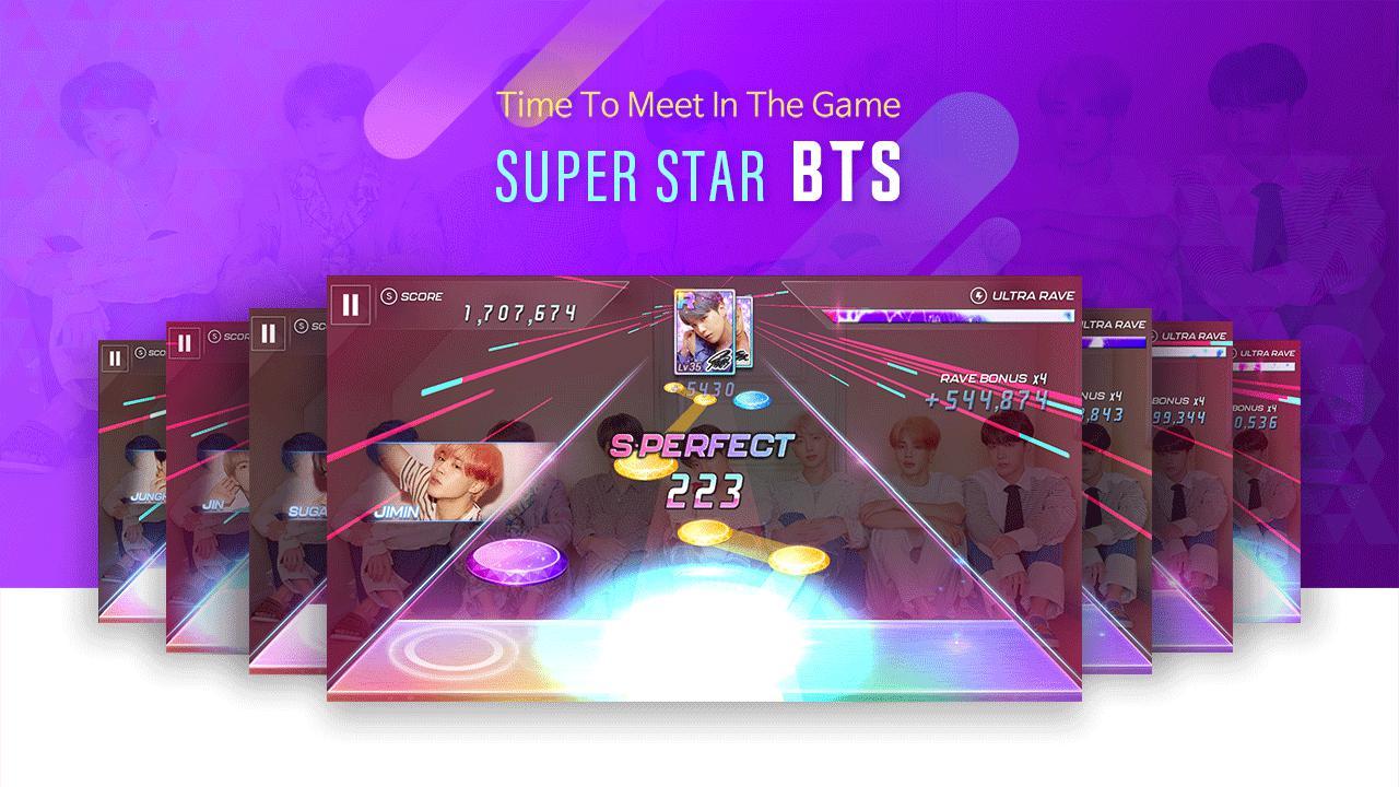 SuperStar BTS 游戏截图2