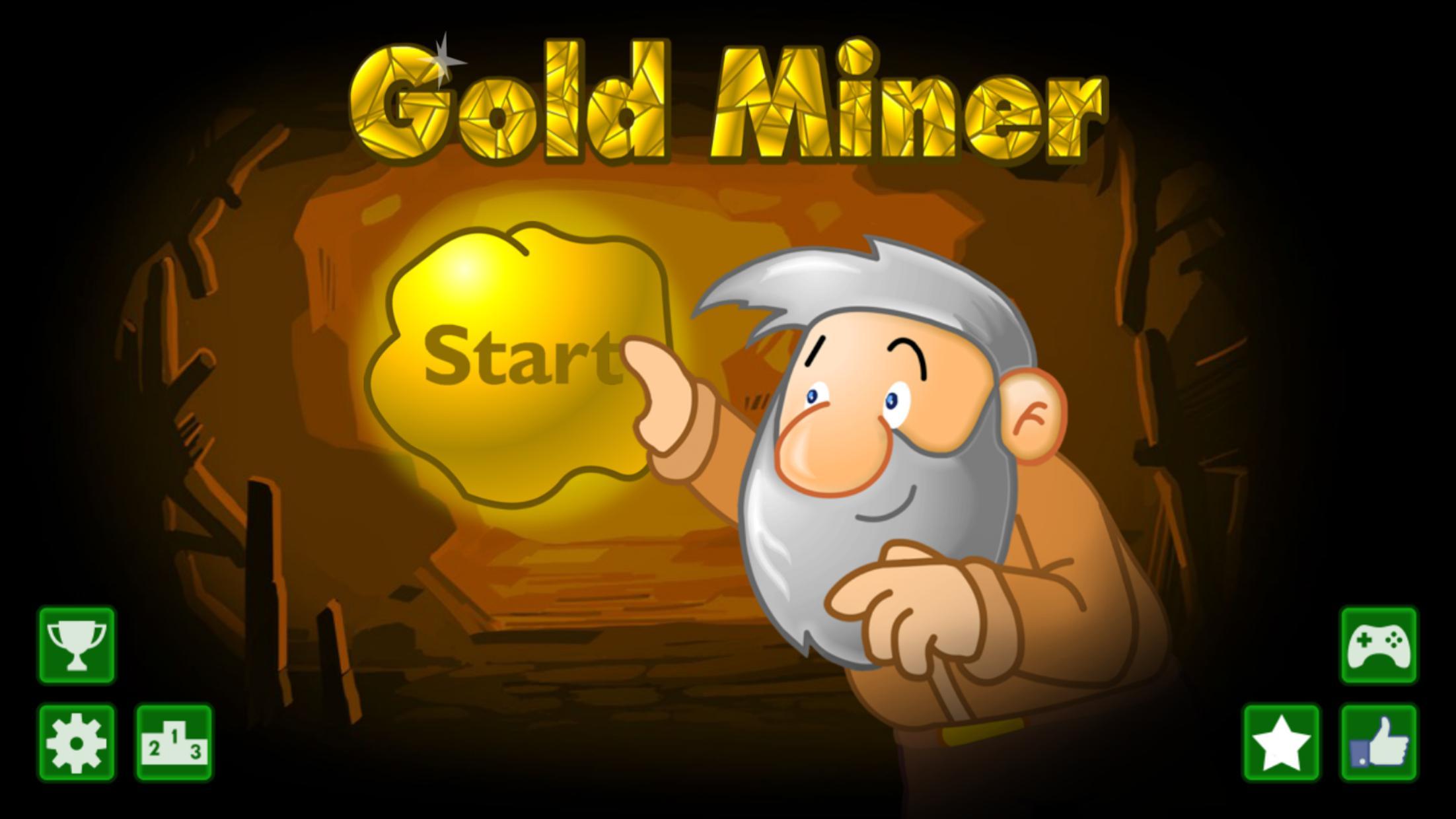 黄金矿工 - 起源 游戏截图1