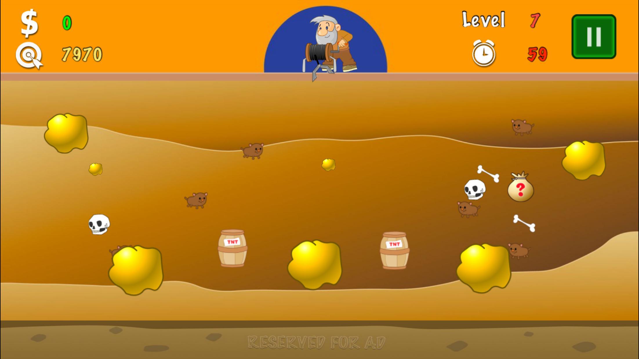 黄金矿工 - 起源 游戏截图3