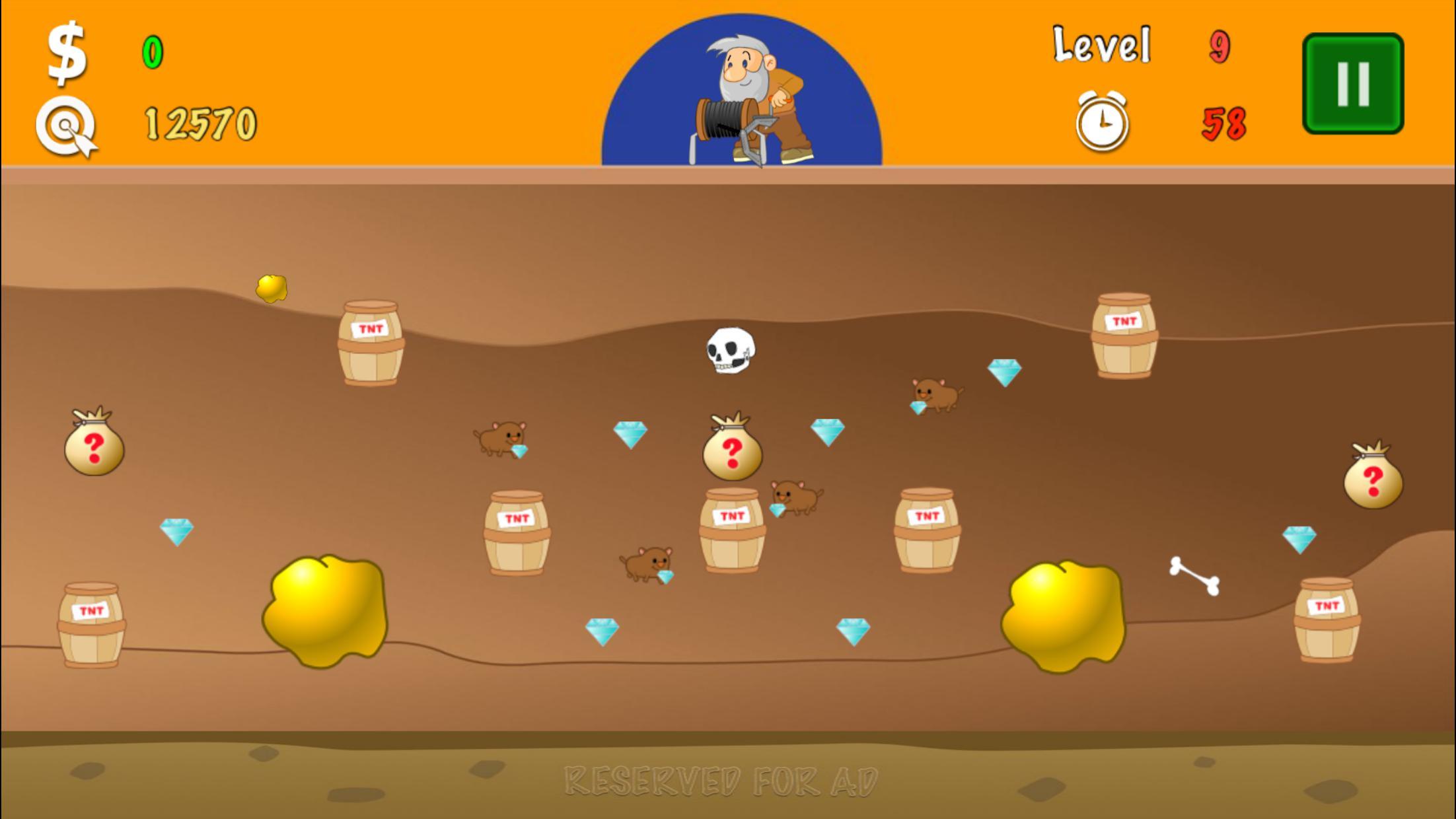 黄金矿工 - 起源 游戏截图4