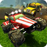 Crash Drive 2 -  多人游戏 Race 3D