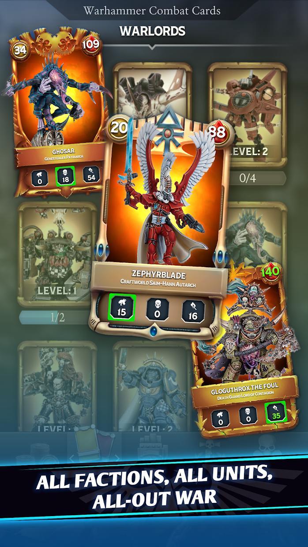 战锤40K战斗卡牌(Warhammer Combat Cards - 40K Edition Card Battle) 游戏截图2