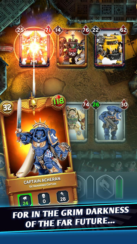 战锤40K战斗卡牌(Warhammer Combat Cards - 40K Edition Card Battle) 游戏截图3
