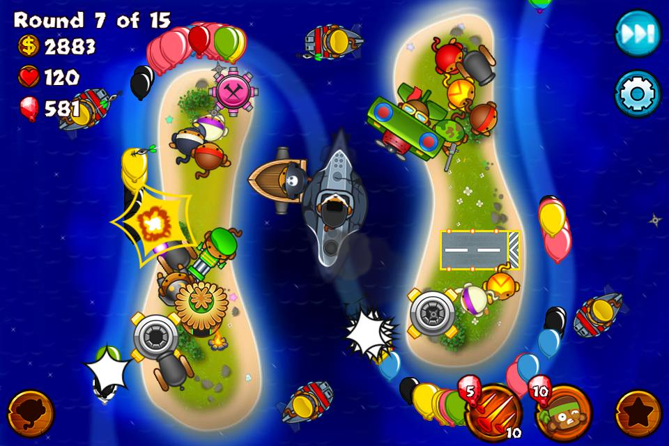 Bloons Monkey City 游戏截图2