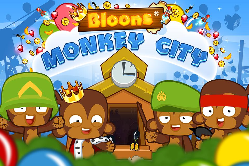 Bloons Monkey City 游戏截图5