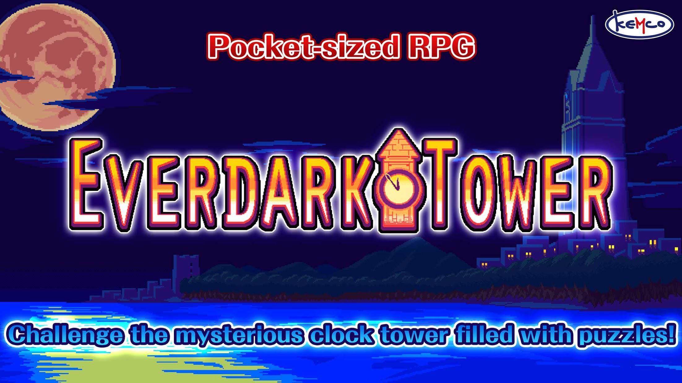 Everdark Tower - Pocket-sized RPG 游戏截图1