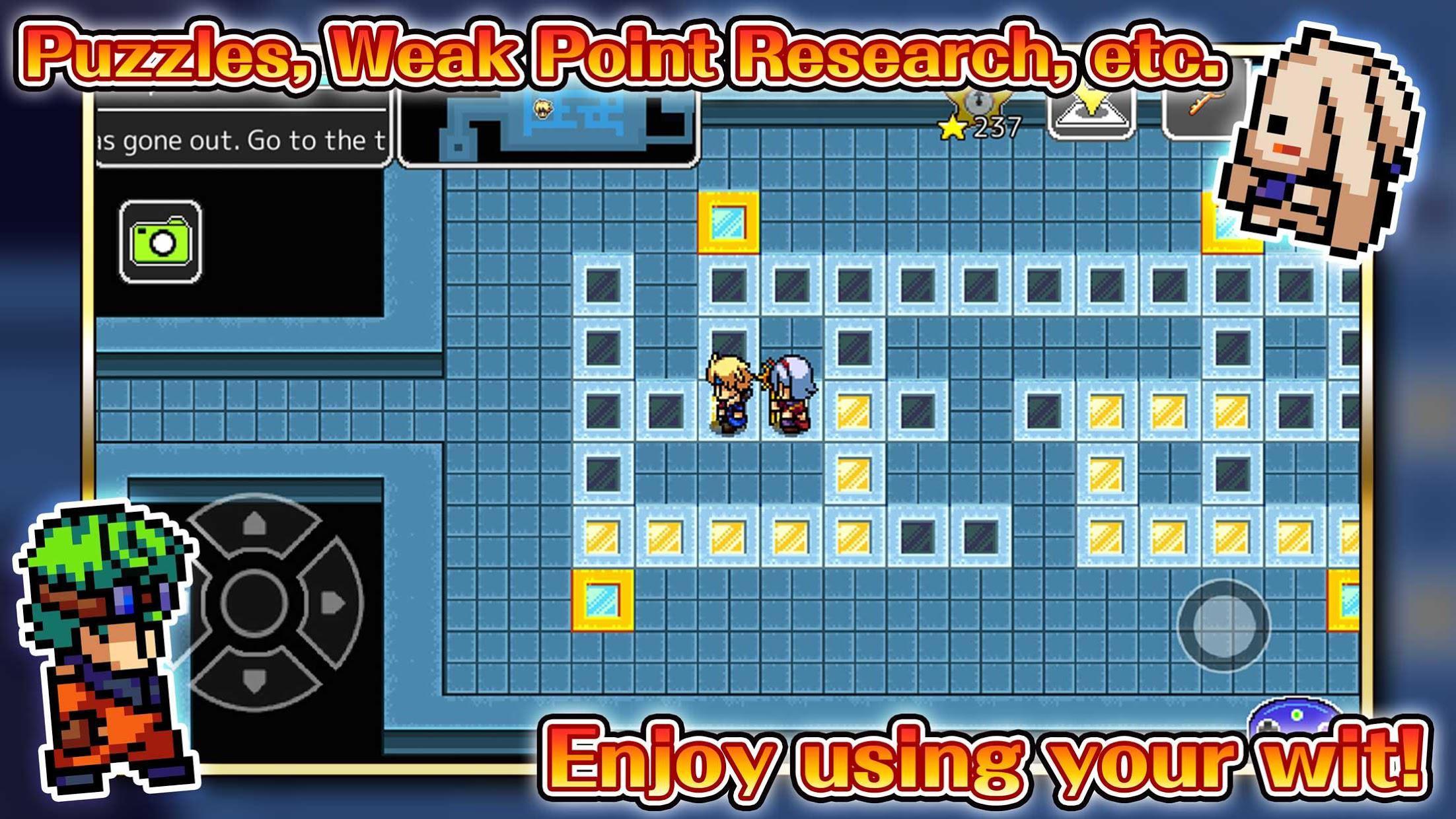 Everdark Tower - Pocket-sized RPG 游戏截图3