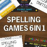 Spelling Games Bundle Pack 6in1