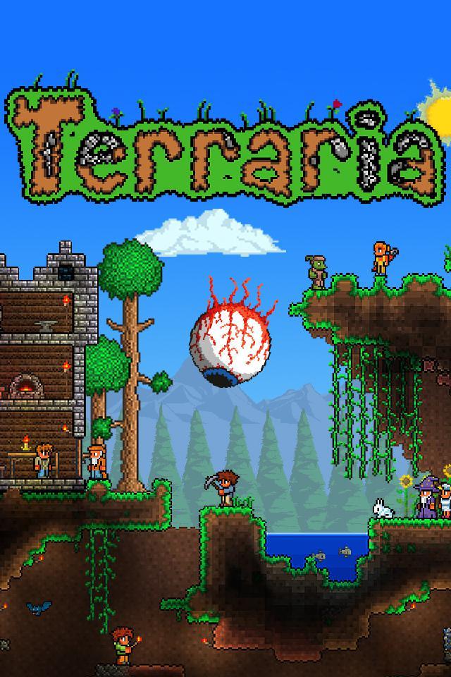 泰拉瑞亚(Terraria 付费版) 游戏截图1